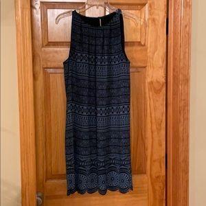 LOFT Sleeveless Shift Dress